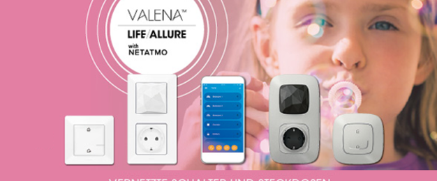 Valena with Netatmo bei Zaremba Elektro GmbH & Co.KG in Trautskirchen
