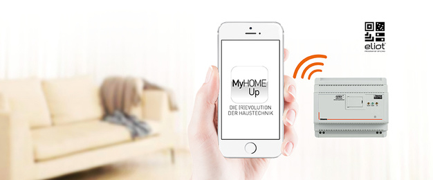 MyHOME / MyHOME_Up bei Zaremba Elektro GmbH & Co.KG in Trautskirchen