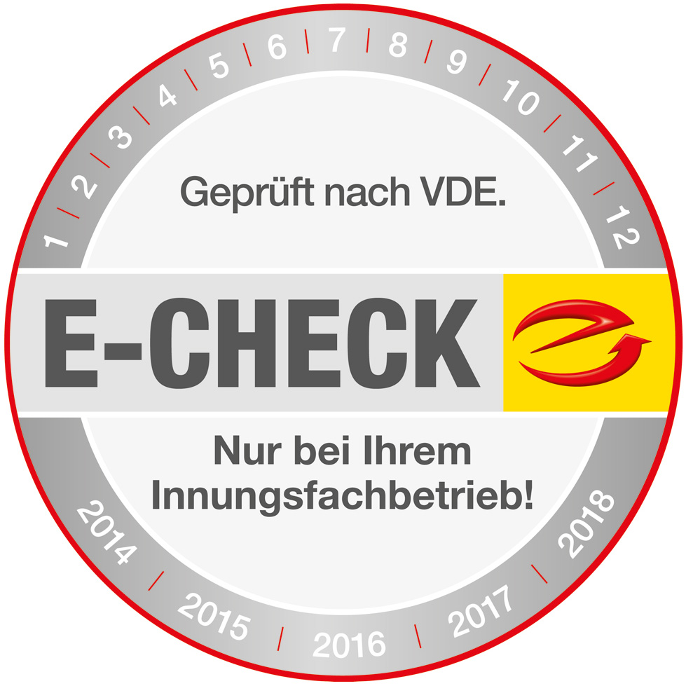 Der E-Check bei Zaremba Elektro GmbH & Co.KG in Trautskirchen